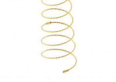 angel anillo oro espiral - anillos oro sencillos - comprar online anillos juveniles - magicwire - anillos modernos - joyeria marga mira