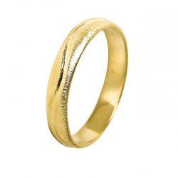 alianza boda oro amarillo a1012a - alianzas boda hilo oro - alianzas boda alicante - joyeria marga mira - gold wedding in alicante - jewelry in alicante