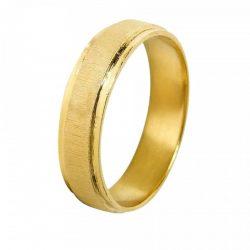 alianza oro amarillo a1019a - alianzas boda alicante - joyeria marga mira - gold wedding in alicante - jewelry in alicante