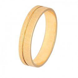 alianza plana oro amarillo 1pl-40-09a - alianzas boda hilo oro - alianzas boda alicante - joyeria marga mira - gold wedding in alicante - jewelry in alicante